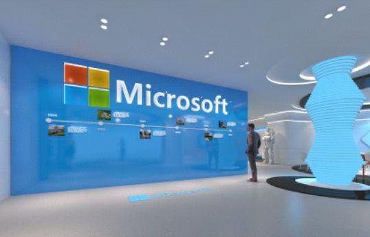 微软苏州展示厅